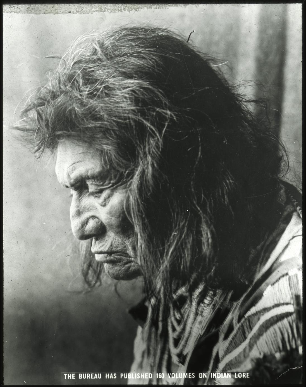 www.siarchives.si.edu. Acc. 12-492, Box 4; Portrait of an identified male. Label on slide: I-BAE 3.
